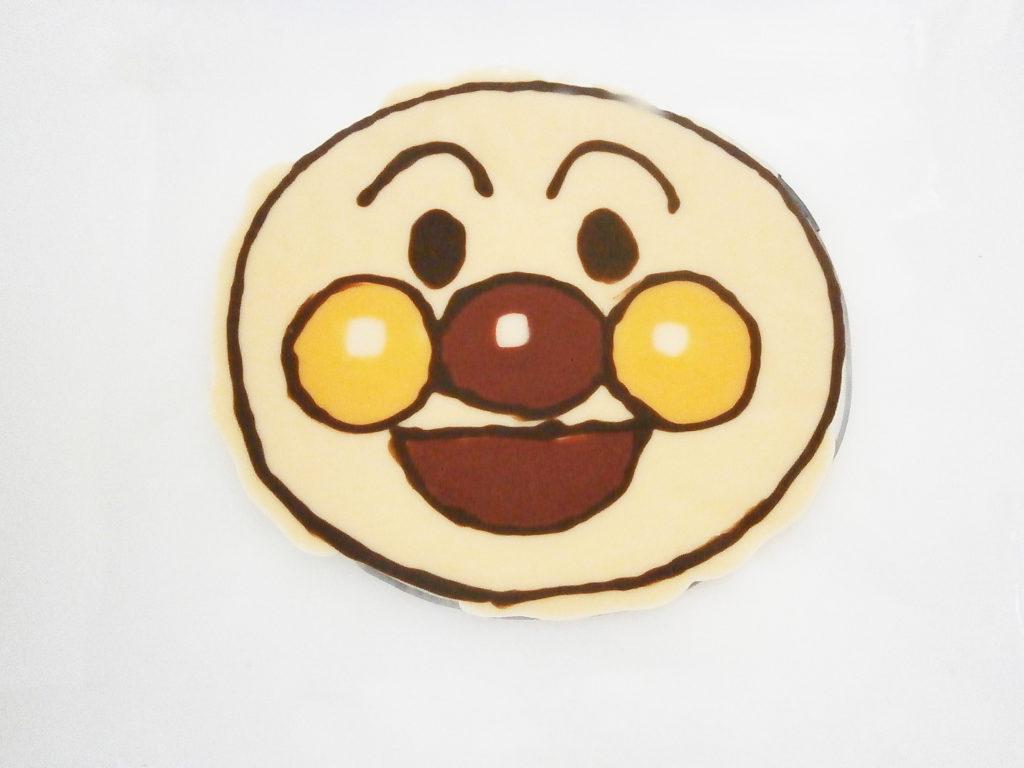 アンパンマンケーキ準備