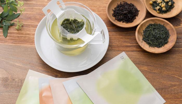 日本茶ドリップ「Drip Tea」イメージ